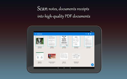 Escáner rápido: captura de pantalla gratuita en PDF