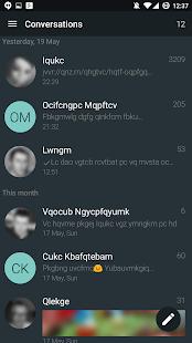 YAATA - Captura de pantalla para mensajes SMS / MMS