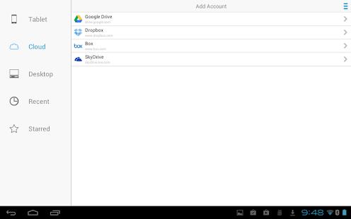 Captura de pantalla de Docs To Go Free Office Suite