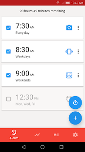 Alarm (Sleep If U Can): captura de pantalla Pro