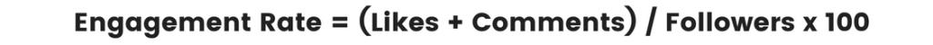 Instagram    Métricas a seguir: Cálculo del nivel de compromiso