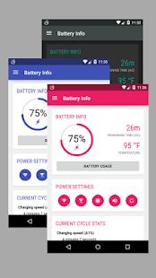 Captura de pantalla de Battery Widget Reborn 2020