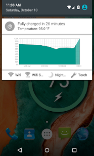 Captura de pantalla de Battery Widget Reborn 2020