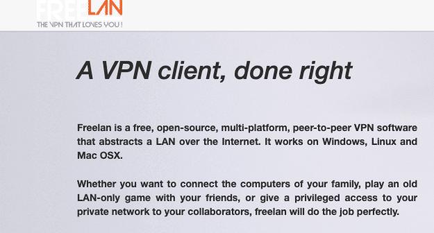 Freelan vpn de código abierto