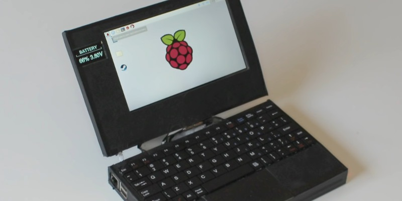 Raspberry Laptop Extreme
