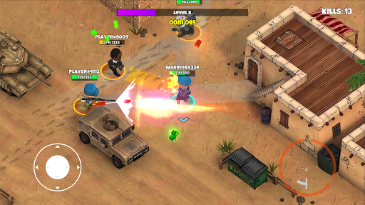 Warriors.io - Battle Royale y TPS