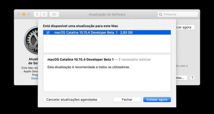 Imagen de Apple macOS beta con referencias a procesadores AMD