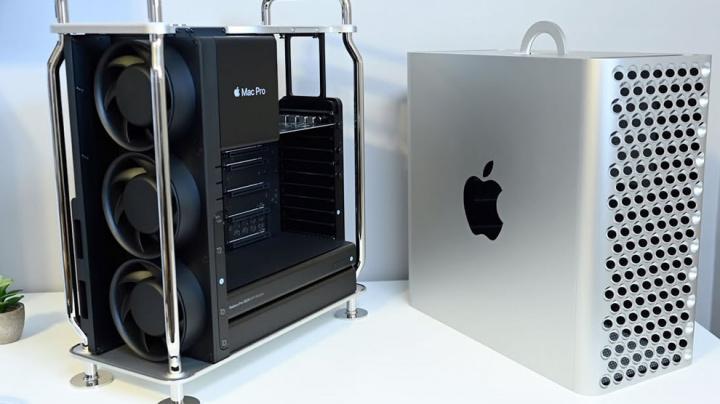 Mac Pro imagen de Apple con Intel
