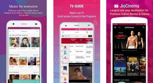 JioCinema para Android e iOS