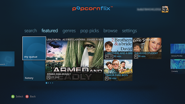Popcorn Flix para Android e iOS