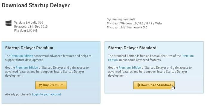 Inicio Delayer Optimizar Iniciar sesión Descargar Estándar