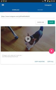 vídeo Downloader - también Instagram Captura de pantalla para volver a publicar la aplicación