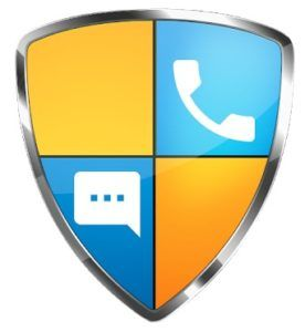Call Blocker - Lista negra, logotipo de SMS Blocker