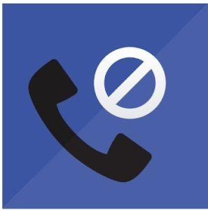 Logotipo de bloqueo de llamadas