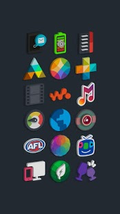 Captura de pantalla de Tigad Pro Icon Pack