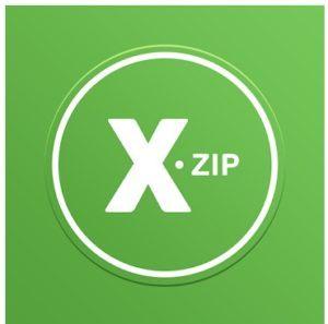XZip - zip unzip unrs tool logo