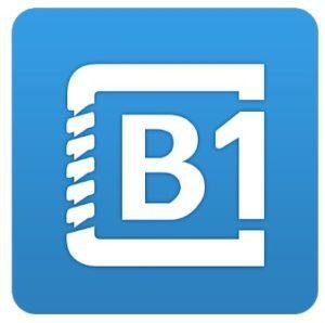 B1 Archiver zip rar descomprimir logo