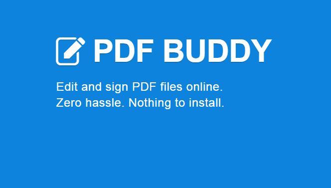PDF Buddy 2015 mejor herramienta de edición de PDF