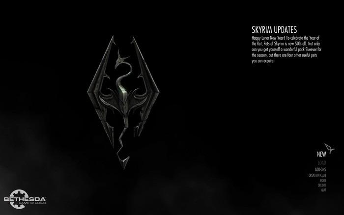 Geforce Now Game Streaming Skyrim Running