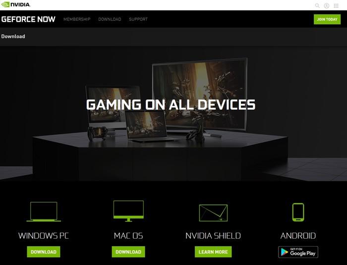 Geforce Now Game Streaming Descargar Cliente