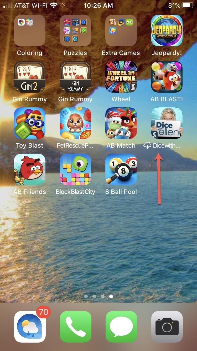 Lanzamiento de la aplicación iPhone