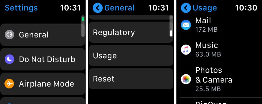 Apple Watch    Configuración Usar música