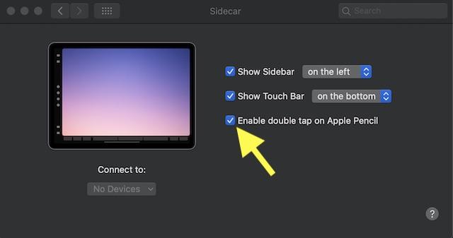 Habilitar: deshabilitar doble toque en Apple Lápiz (2da generación)