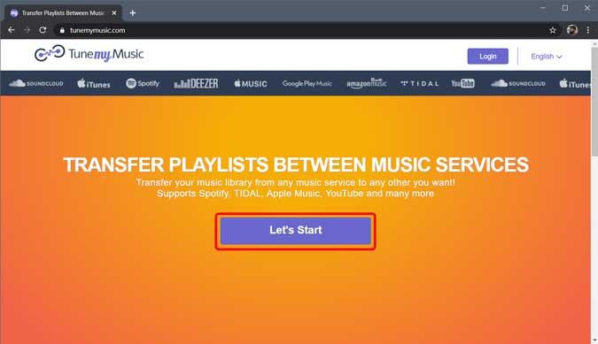 configurar mi herramienta de música en Chrome-webbläsaren