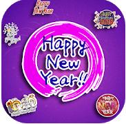 mejor feliz año nuevo etiqueta engomada de whatsapp android 2019
