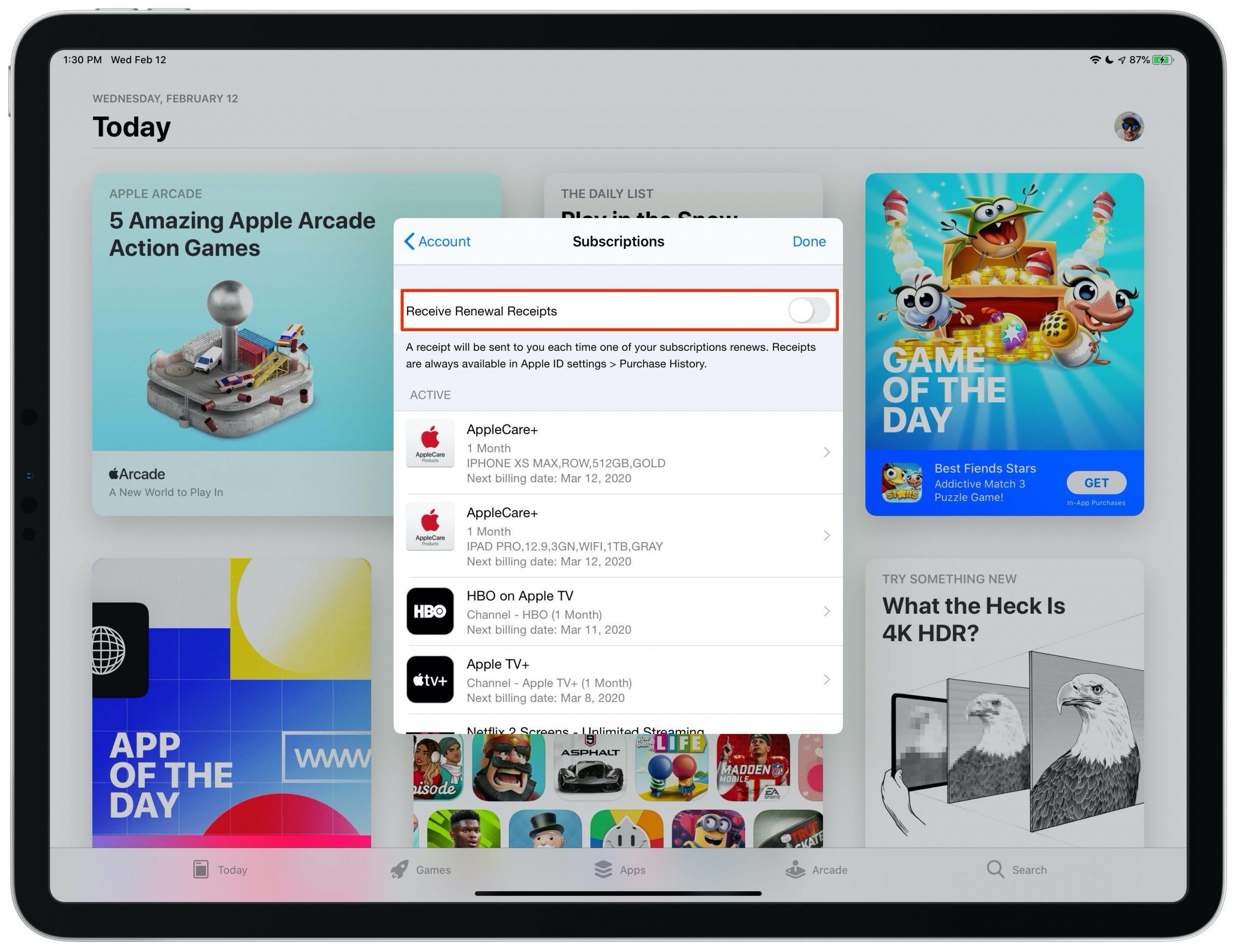 deja de recibir Apple renovación de correo electrónico renovación de correos electrónicos