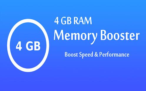 4  GB  RAM Memory Booster - Limpieza de basura | Captura de pantalla de CPU Cool