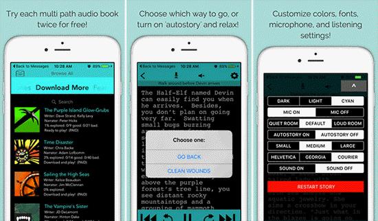mejores aplicaciones gratuitas de audiolibros para iPhone