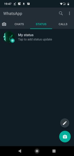 Activa el modo oscuro de Whatsapp