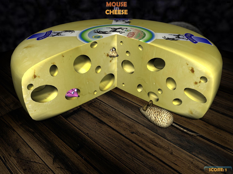 Mouse iPad con queso