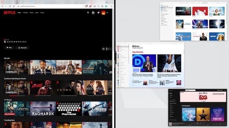 Cómo hacer clic en aplicaciones compartidas de Macos Open Screen