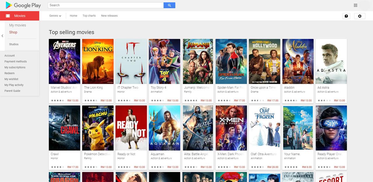Google Play Store Malasia muestra la cantidad exacta de impuesto digital que debe pagar