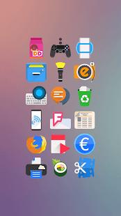 Rewun - Captura de pantalla del paquete de iconos