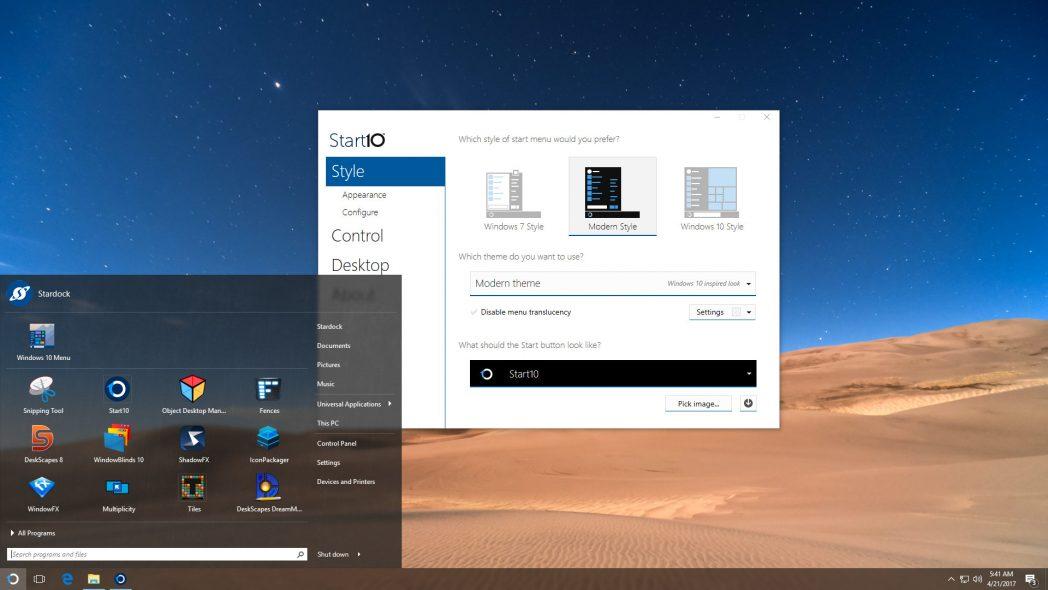 Las mejores herramientas para Windows personalización Cambiar la interfaz de usuario aburrida