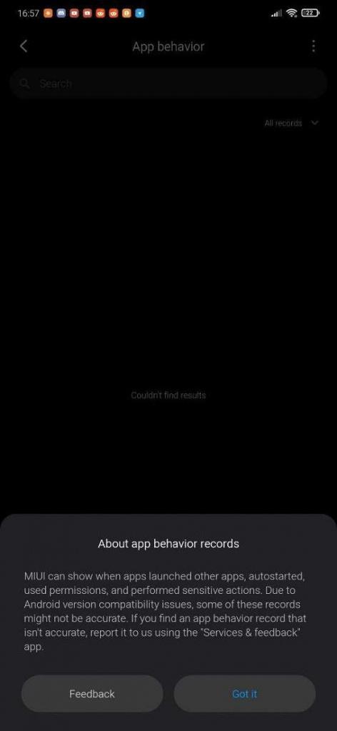 Xiaomi MIUI 11permisos para aplicaciones smartphones