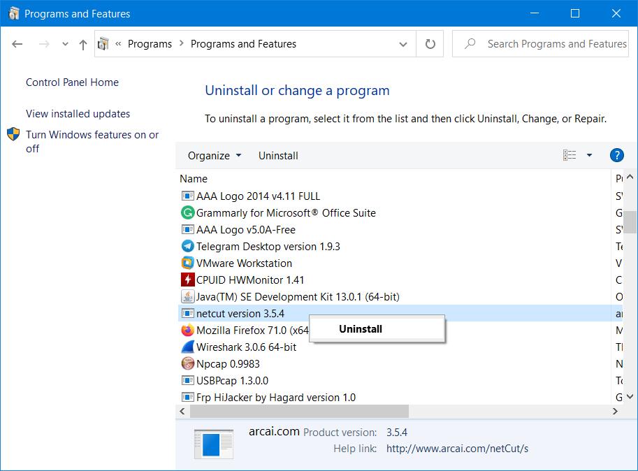 como vencer Windows Firewall ha bloqueado algunas funciones de este programa al desinstalar el programa