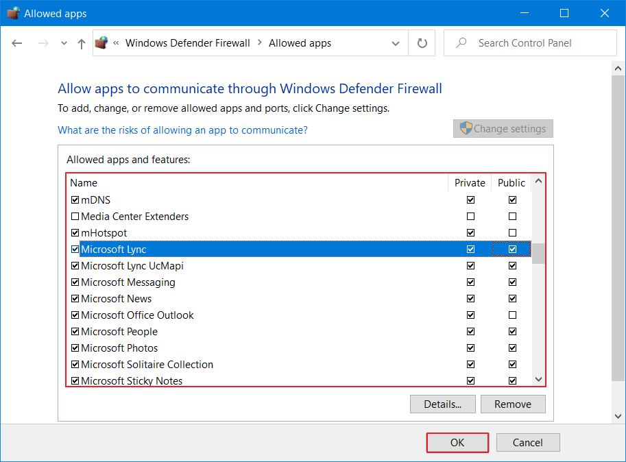 Windows    Firewall ha bloqueado algunas funciones de este programa - Permitir 4
