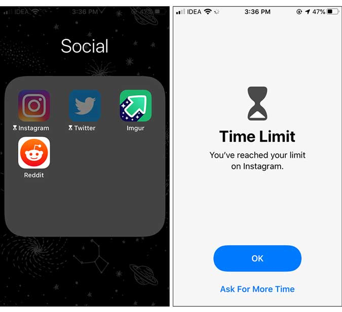 aplicaciones bloqueadas - bloquear aplicación en iphone