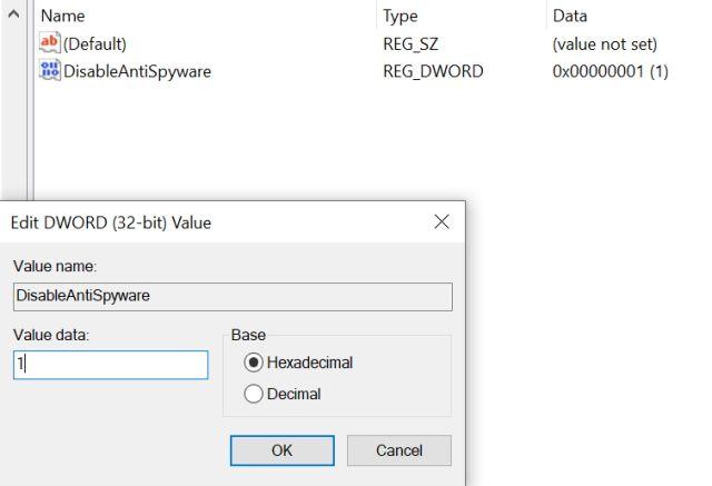 Deshabilite Msmpeng.exe y reduzca el uso elevado de CPU