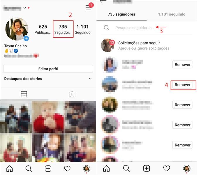 Dejar de seguir Instagram