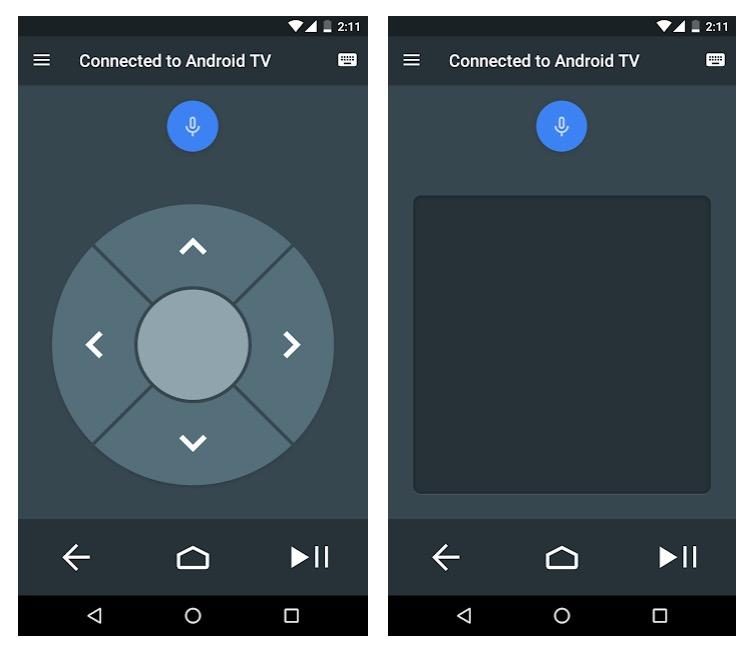 Control remoto de Android TV