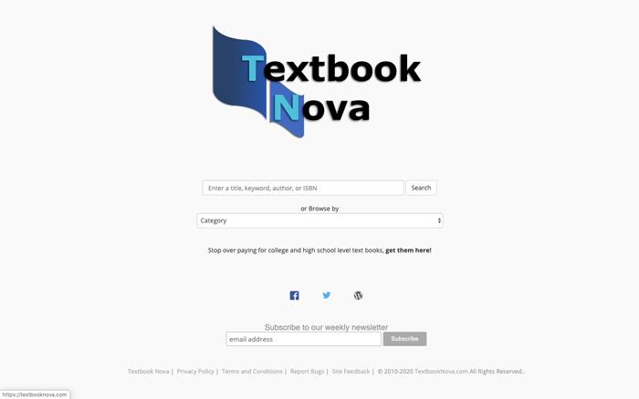 Libro de texto Nova