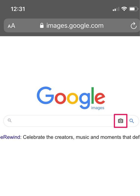 Cómo invertir la búsqueda de imágenes en iPhone