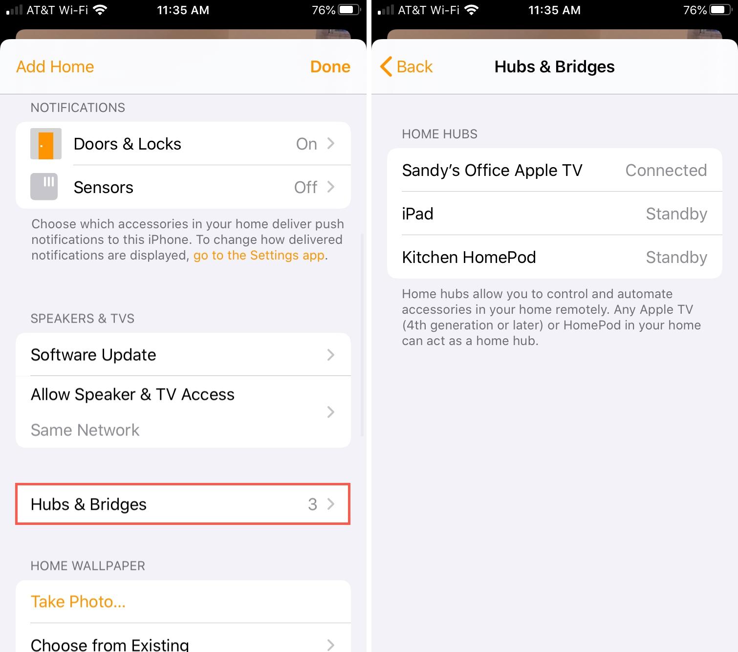 Inicio Hubs y puentes iPhone