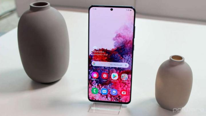 S20 Galaxy La perfección de la pantalla de Samsung