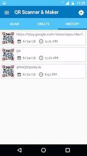 Captura de pantalla de QR Scanner & Maker Pro